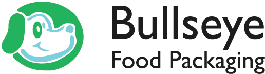 Bullseye Food Packaging Logo Horizontal